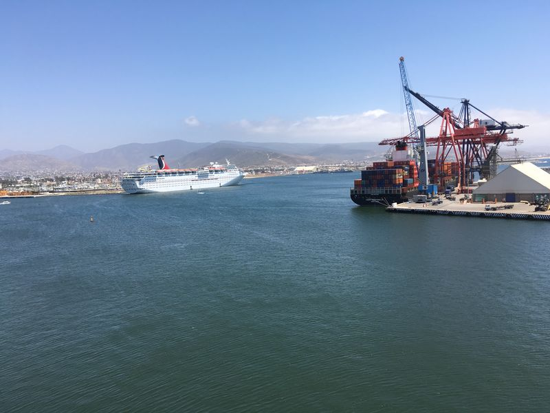Busy port